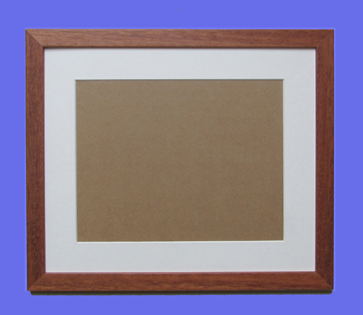 Wood Photo Frames : Wood Picture Frame Colour real wood frame